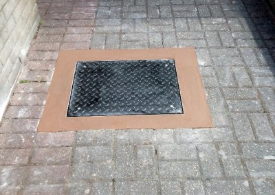 Kensington & Chelsea Property Maintenance Secured manhole cover