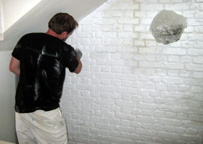 Kensington & Chelsea Property Maintenance Brick wall panels which look real